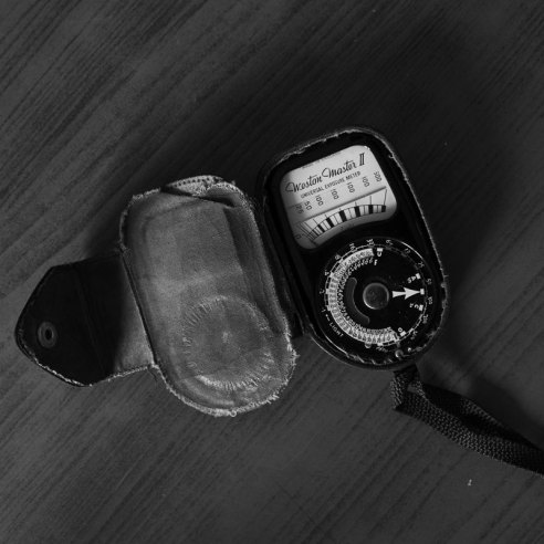 Ashwini Bhatia's Weston light meter