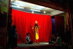 Performer in Ramlila pageant