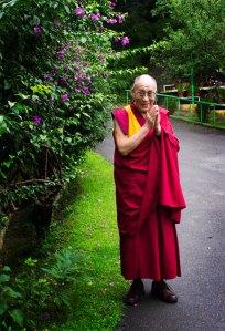 His Holiness the 14th Dalai Lama of Tibet. Photo by Ashwini Bhatia