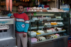 Cake shop in McLeodganj. Photo by Angus McDonald