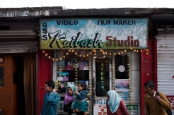 Kailash photo studio, Forsyth Ganj. Photo by Angus McDonald