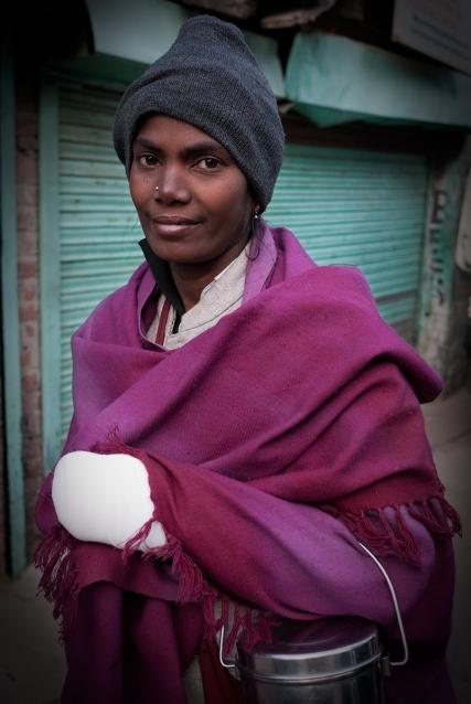 Beggar in the main square, McLeodganj, Dharamshala, India. Photo by Angus McDonald