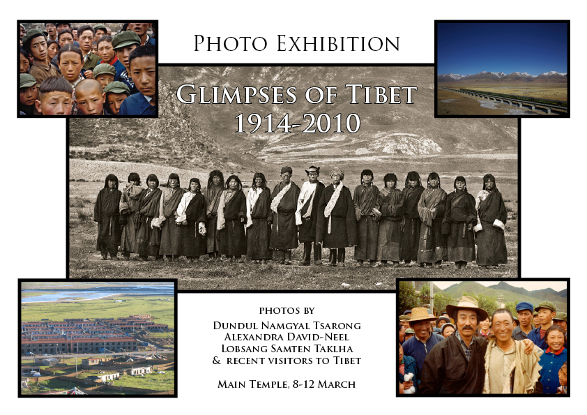 Photo exhibition: Glimpses of Tibet, 1914-2010