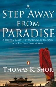Cover of A Step away from Paradise by Thomas K. Shor
